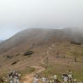 霊仙山北稜線