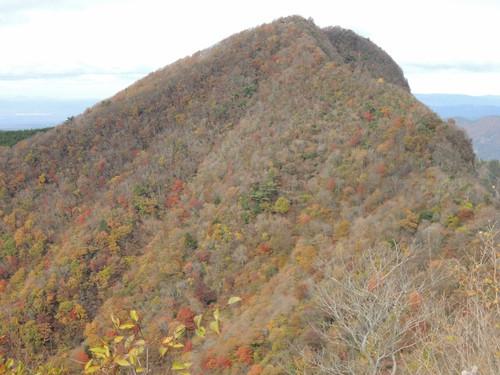 倶留尊山からの紅葉