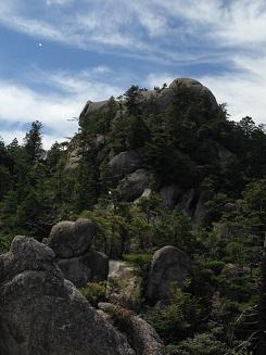 金勝アルプスの巨岩・奇岩